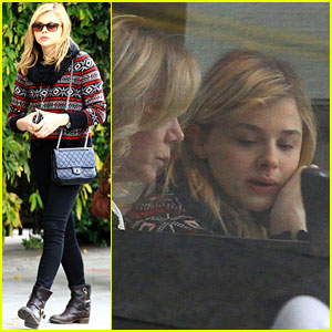 Chloe Moretz: Lunch Date with Mom