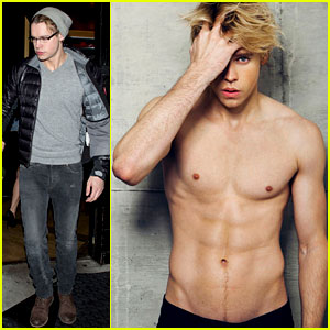 Chord Overstreet: Shirtless for 'Dreamers NYC'!