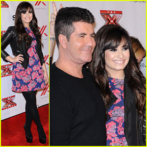 Demi Lovato: 'X Factor' Viewing Party!