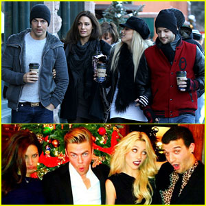 Derek Hough: Double Date with Mark Ballas!