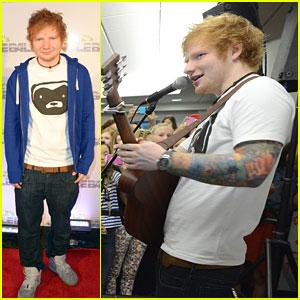 Ed Sheeran: 93.3 FLZ's Jingle Ball Pre-Show in Tampa!