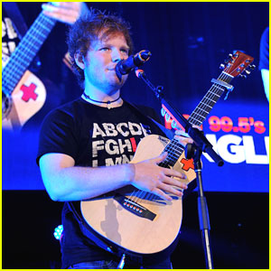 Ed Sheeran: Hot 99.5's Jingle Ball in Washington, D.C.