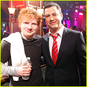Ed Sheeran Performs 'The A Team' on Jimmy Kimmel Live
