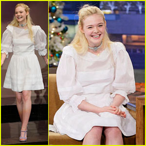 Elle Fanning Talks About Her First On Screen Kiss!