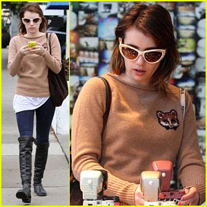 Emma Roberts: Camera Shopping Cutie