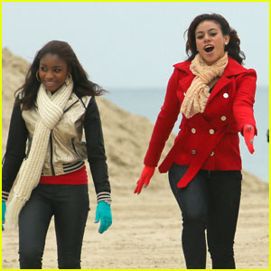 Fifth Harmony: X Factor Holiday Beach Shoot!