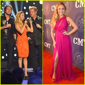 Hayden Panettiere: CMT Artists of the Year 2012