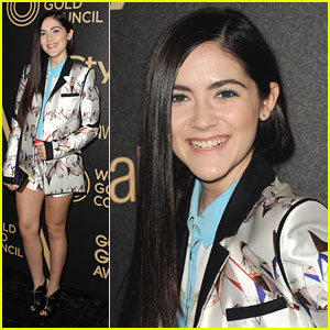 Isabelle Fuhrman: InStyle Golden Globe Party Pretty