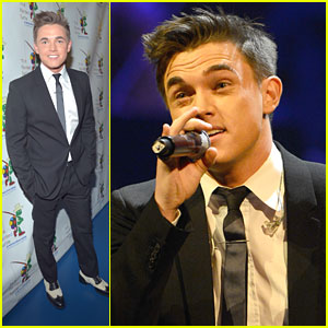 Jesse McCartney Celebrates Carole King