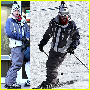 Jesse McCartney Hits the Slopes!