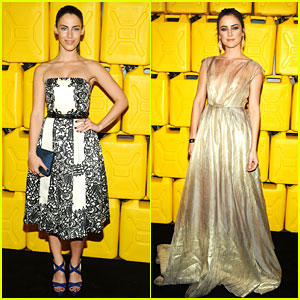 Jessica Stroup & Jessica Lowndes: Charity:Water Gala in NYC