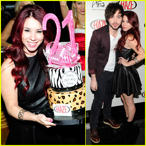 Jillian Rose Reed: 21st Birthday in Vegas!