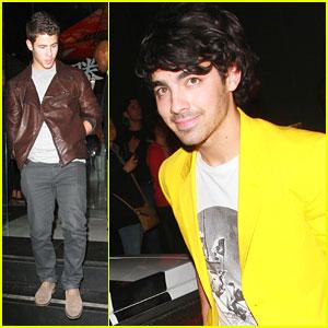 Jonas Brothers: Japanese Dinner After Jingle Ball