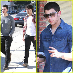 Jonas Brothers: Kings Road Cafe Lunch