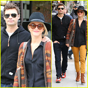 Julianne Hough & Ryan Seacrest: Sightseeing with His Parents!