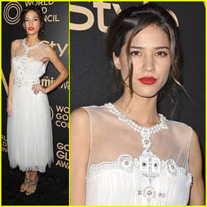 Kelsey Chow: InStyle Golden Globe Party