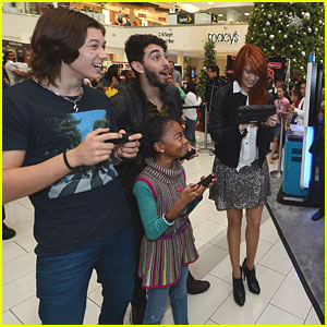 'Kickin' It' Cast: Wii U Showdown with 'Jessie'