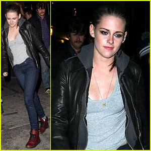 Kristen Stewart: 'On The Road' After Party!