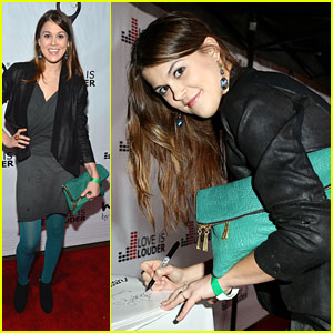 Lindsey Shaw: Chaz Dean's Holiday Party 2012