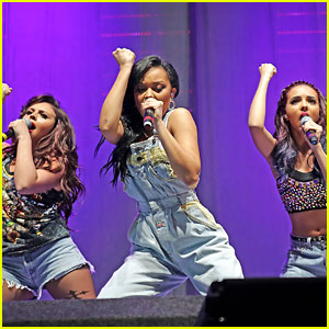 Little Mix Perform at Radio City Live 2012; Perrie Edwards Not Performing Due To Throat Issues