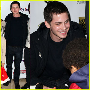 Logan Lerman: Working Dreams Toy Drive!
