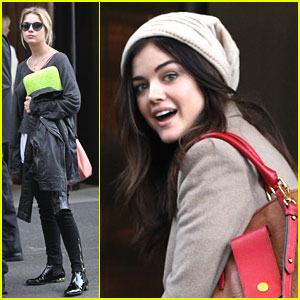 Lucy Hale: Sam Edelman Shoe Shopper
