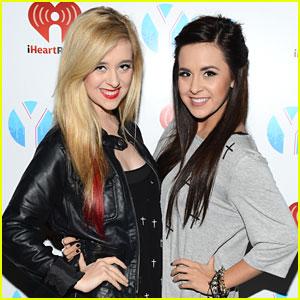 Megan & Liz: Y100's Jingle Ball 2012