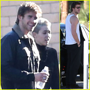 Miley Cyrus: Post-Christmas Outing with Liam Hemsworth!
