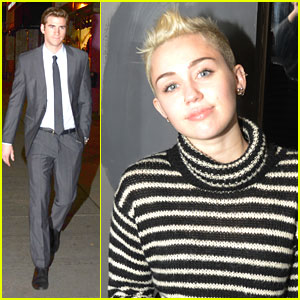 Miley Cyrus Hits The Studio in Philadelphia