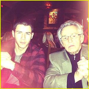 Nick Jonas: Meet My Grandpa!