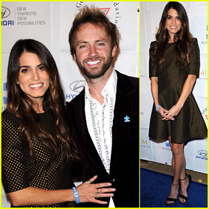 Nikki Reed: Autism Speaks 'Blue Tie Blue Jean Ball' with Paul McDonald!
