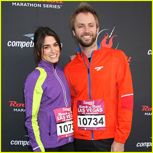 Nikki Reed & Paul McDonald: Rock 'N Roll Marathon in Vegas!