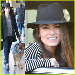 Nikki Reed Promotes 'Safe Ride' Campaign
