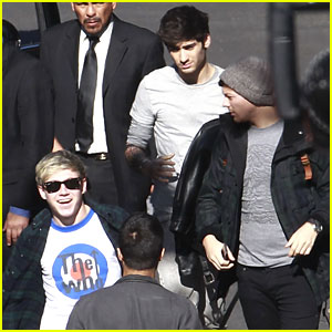 One Direction: 'X Factor' Arrival