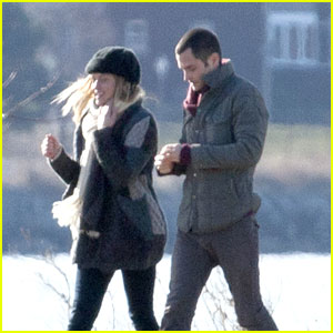 Teresa Palmer &#038; Penn Badgley: 'Parts Per Billion' Filming in Detroit