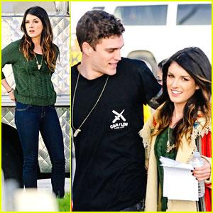 Shenae Grimes & Josh Beech: '90210' Set After Engagement Announcement