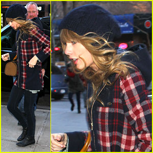 Taylor Swift: New Year's Eve in Times Square!