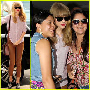 Taylor Swift: Swarmed By Fans in Sydney!
