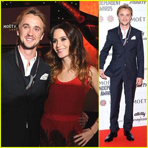 Tom Felton & Jade Olivia: British Independent Film Awards 2012