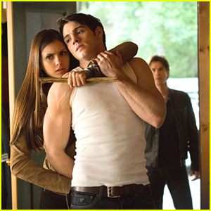 Nina Dobrev Takes Steven R. McQueen Prisoner