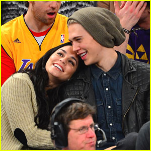 Vanessa Hudgens: Basketball Game Before Birthday