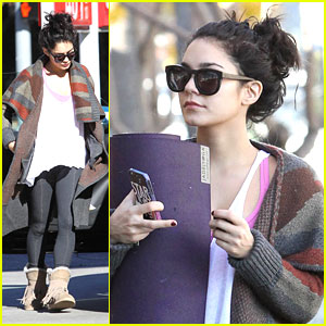 Vanessa Hudgens: Yoga Class After Christmas