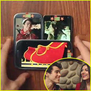 Victoria Justice & Max Schneider: Holiday Medley Video - Watch Now!
