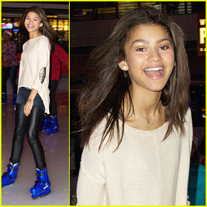 Zendaya: Ice Skating Sweetie