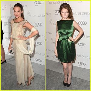 Anna Kendrick & Alicia Vikander: Art of Elysium's Heaven Gala 2013