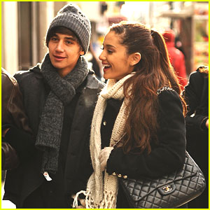 Ariana Grande: NYC Outing with Jai Brooks