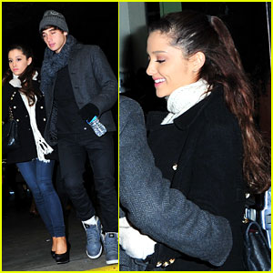 Ariana Grande: 'Wicked' With Jai Brooks!