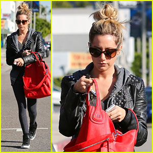 Ashley Tisdale Gets 'Left Behind'