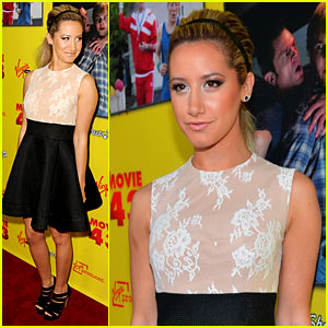 Ashley Tisdale Premieres 'Movie 43'