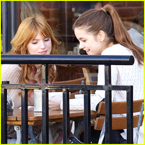 Bella Thorne & Barbara Palvin: Breakfast Buddies
